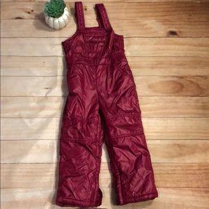 Gap Kids Shimmer fleece lined snowpants - 4 / 4T